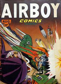 Cover Thumbnail for Airboy Comics (Hillman, 1945 series) #v4#7 [42]