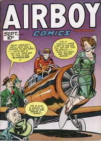Cover Thumbnail for Airboy Comics (Hillman, 1945 series) #v4#8 [43]
