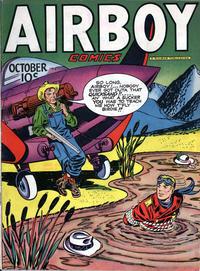 Cover Thumbnail for Airboy Comics (Hillman, 1945 series) #v4#9 [44]