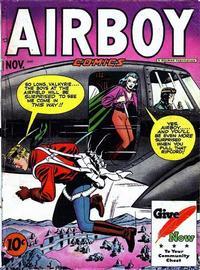 Cover Thumbnail for Airboy Comics (Hillman, 1945 series) #v4#10 [45]