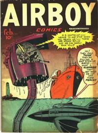 Cover Thumbnail for Airboy Comics (Hillman, 1945 series) #v5#1 [48]
