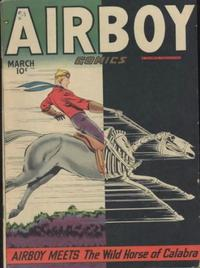 Cover for Airboy Comics (Hillman, 1945 series) #v5#2 [49]