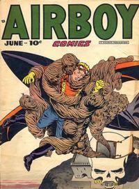 Cover Thumbnail for Airboy Comics (Hillman, 1945 series) #v5#5 [52]