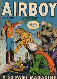 Cover Thumbnail for Airboy Comics (Hillman, 1945 series) #v5#6 [53]