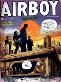 Cover Thumbnail for Airboy Comics (Hillman, 1945 series) #v5#7 [54]