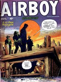 Cover Thumbnail for Airboy Comics (Hillman, 1945 series) #v5#7 [54]