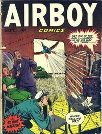 Cover Thumbnail for Airboy Comics (Hillman, 1945 series) #v5#8 [55]