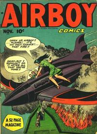 Cover Thumbnail for Airboy Comics (Hillman, 1945 series) #v5#10 [57]