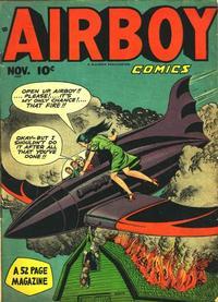 Cover Thumbnail for Airboy Comics (Hillman, 1945 series) #v5#10 [57]
