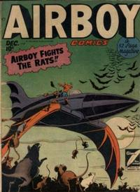Cover for Airboy Comics (Hillman, 1945 series) #v5#11 [58]