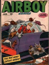 Cover Thumbnail for Airboy Comics (Hillman, 1945 series) #v5#12 [59]