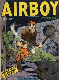 Cover Thumbnail for Airboy Comics (Hillman, 1945 series) #v6#1 [60]