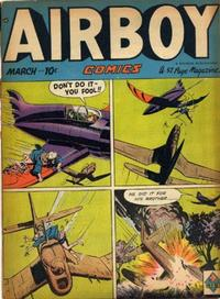Cover Thumbnail for Airboy Comics (Hillman, 1945 series) #v6#2 [61]