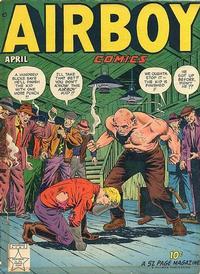 Cover Thumbnail for Airboy Comics (Hillman, 1945 series) #v6#3 [62]