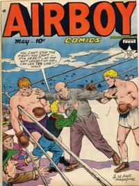 Cover Thumbnail for Airboy Comics (Hillman, 1945 series) #v6#4 [63]