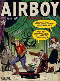 Cover Thumbnail for Airboy Comics (Hillman, 1945 series) #v6#6 [65]