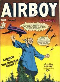 Cover Thumbnail for Airboy Comics (Hillman, 1945 series) #v6#7 [66]