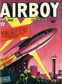 Cover Thumbnail for Airboy Comics (Hillman, 1945 series) #v6#8 [67]