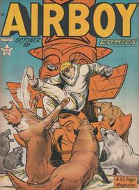 Cover Thumbnail for Airboy Comics (Hillman, 1945 series) #v6#9 [68]