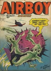 Cover Thumbnail for Airboy Comics (Hillman, 1945 series) #v6#10 [69]