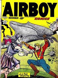 Cover Thumbnail for Airboy Comics (Hillman, 1945 series) #v6#11 [70]