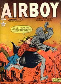 Cover Thumbnail for Airboy Comics (Hillman, 1945 series) #v6#12 [71]
