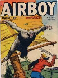 Cover Thumbnail for Airboy Comics (Hillman, 1945 series) #v7#2 [73]