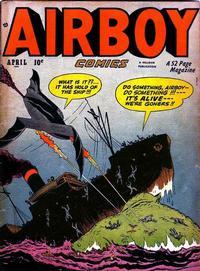 Cover Thumbnail for Airboy Comics (Hillman, 1945 series) #v7#3 [74]