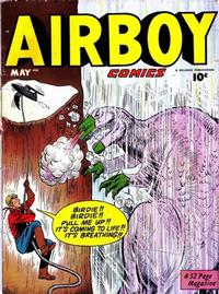 Cover Thumbnail for Airboy Comics (Hillman, 1945 series) #v7#4 [75]