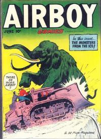 Cover Thumbnail for Airboy Comics (Hillman, 1945 series) #v7#5 [76]