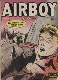 Cover Thumbnail for Airboy Comics (Hillman, 1945 series) #v7#6 [77]