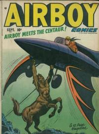Cover for Airboy Comics (Hillman, 1945 series) #v7#8 [79]