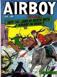 Cover Thumbnail for Airboy Comics (Hillman, 1945 series) #v7#12 [83]