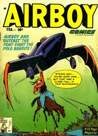 Cover Thumbnail for Airboy Comics (Hillman, 1945 series) #v8#1 [84]