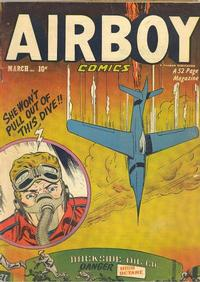 Cover Thumbnail for Airboy Comics (Hillman, 1945 series) #v8#2 [85]