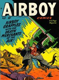 Cover Thumbnail for Airboy Comics (Hillman, 1945 series) #v8#4 [87]
