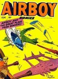 Cover Thumbnail for Airboy Comics (Hillman, 1945 series) #v8#5 [88]