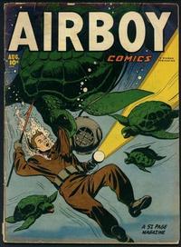 Cover Thumbnail for Airboy Comics (Hillman, 1945 series) #v8#7 [90]