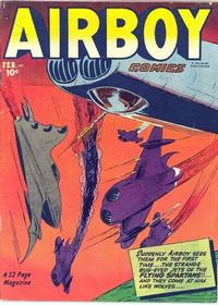 Cover Thumbnail for Airboy Comics (Hillman, 1945 series) #v9#1 [96]