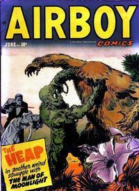 Cover Thumbnail for Airboy Comics (Hillman, 1945 series) #v9#5 [100]