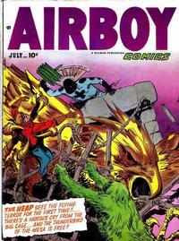 Cover Thumbnail for Airboy Comics (Hillman, 1945 series) #v9#6 [101]