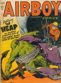 Cover Thumbnail for Airboy Comics (Hillman, 1945 series) #v9#8 [103]