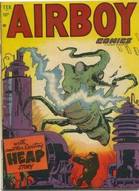 Cover Thumbnail for Airboy Comics (Hillman, 1945 series) #v10#1 [108]