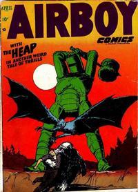 Cover Thumbnail for Airboy Comics (Hillman, 1945 series) #v10#3 [110]