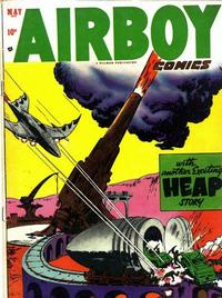 Cover Thumbnail for Airboy Comics (Hillman, 1945 series) #v10#4 [111]