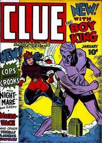 Cover Thumbnail for Clue Comics (Hillman, 1943 series) #v1#1 [1]