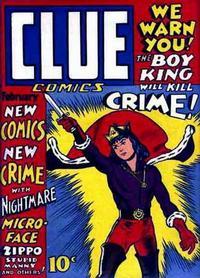 Cover Thumbnail for Clue Comics (Hillman, 1943 series) #v1#2 [2]