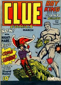Cover Thumbnail for Clue Comics (Hillman, 1943 series) #v1#3 [3]