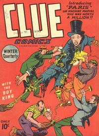 Cover Thumbnail for Clue Comics (Hillman, 1943 series) #v1#9 [9]