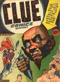 Cover Thumbnail for Clue Comics (Hillman, 1943 series) #v1#7 [7]